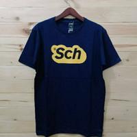 Kaos Baju Combed 3 Distro RSCH SCH OUTLiNE polos custom research ouval