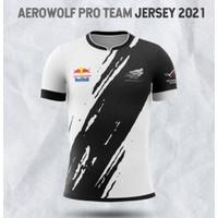 Jersey Cod Baju Kaos Team Genflix Aerowolf 2021 Esport Gaming Ml Pubg