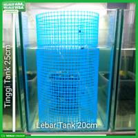 aquarium jaring breeding / jaring breeding guppy kawat