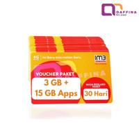 Voucher Data Indosat 3GB Unlimited