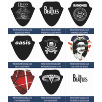 Sticker Windshield | Stiker Visor Decal LEXI MOTORHEAD EVH THE BEATLES