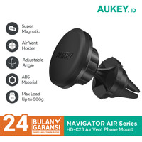 Holder Smartphone Aukey HD-C23 Car Phone Magnetic Air Vent - 500200