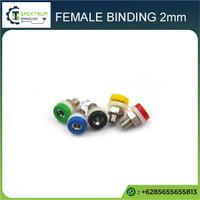 Female Binding 5mm Socket Banana 2mm warna