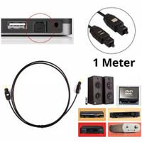 ( 1 M ) Kabel Audio Digital Optical Toslink - Kabel optik 1 Merter