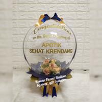 korean flower balloon/kado balon/balon box/gift bunga balon/buketbalon