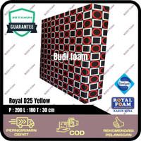 ROYAL FOAM Kasur Busa Royal d25 no 1 size 200 x 180 x 30 cm