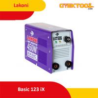 Lakoni Basic 123 ix Mesin Las / Travo Las 450 Watt / 123 ix Lakoni