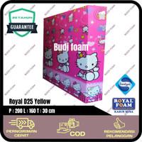 ROYAL FOAM Kasur Busa Royal d25 no 2 size 200 x 160 x 30 cm