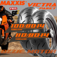 PAKET BAN MOTOR VARIO LEXI MAXXIS VICTRA 100/80 14 & 110/80 14 S98ST