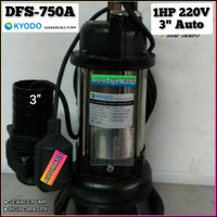 POMPA CELUP KYODO DFS-750A AUTOMATIS POMPA CELUP AIR KOTOR 1HP 3INCH