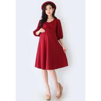 Eve Maternity Dress Korean Baju Hamil Menyusui FDM167
