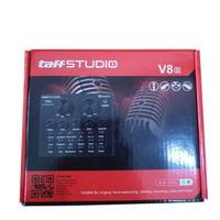 Taffware V8s Bluetooth Audio USB External Soundcard Live Adapter v8