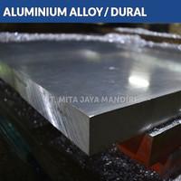 Plat Aluminium 6061 20mm x 40mm x 400mm