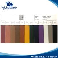 Kulit Imitasi / Bahan Sintetis / PVC Leather (Oscar) - MINISO TEBAL