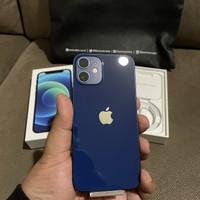 iPhone 12 Mini 128GB Blue Resmi iBox 100% Like New
