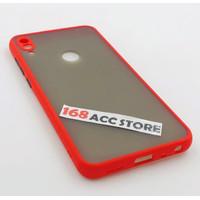 CASE ASUS ZENFONE MAX PRO M1 PC LIST COLOR / CASE ZB601KL / ZB602KL - Merah