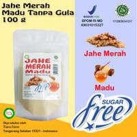 Jahe Merah Madu (Sugar Free / Tanpa Gula) 100 g (Tiara Farm)