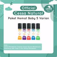 Cessa Baby (0-2 tahun) Fever Drop , Cough n Flu