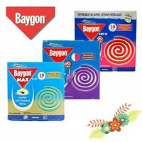 obat nyamuk Baygon bakar jumbo DBD lavender