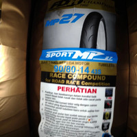 Ban Tubeless FDR Sport MP 27 90/80-14 Soft Compone Murah