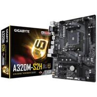 Gigabyte Motherboard GA-A320M-S2H Micro ATX Socket AM4 2 x DDR4