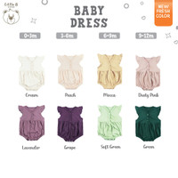 Little B By MacBear Drees Bayi Perempuan Basic Collection Little Cleo
