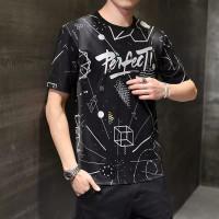 Baju Kaos Pria Distro Oblong Tshirt Lengan Pendek Motif Perfect Murah