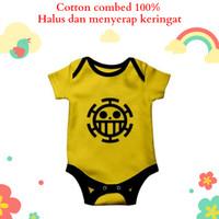Baju jumper bayi unik lucu anime karakter law one piece