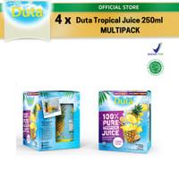 Multipack Duta Pineapple & Passion Fruit Juice 250ml x4