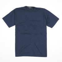 Kaos Polos Katun Bambu Biru Navy - Premium Quality