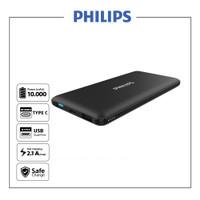 Philips DLP6712N Black Power Bank - 10000 mAh Type C & Micro input