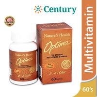 Nature's Health Optima Multivitamin 60 Tablet/Daya Tahan Tubuh