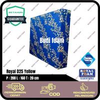 ROYAL FOAM Kasur Busa Royal d25 no.2 size 200 x 160 x 20 cm