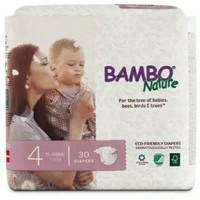 Bambo nature Bamboo Diaper pampers Popok bayi no 4 isi 30