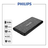 Philips DLP6715N Black Power Bank - 10000 mAh Type C & Micro input