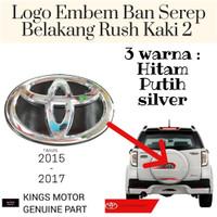 Logo Emblem Ban Serep Rush 2015-2017 Kaki 2 Original