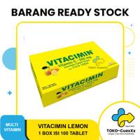 Vitacimin Lemon 1box isi 100 tablet