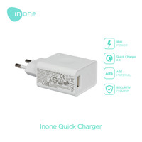 Inone Charger 5V Adapter One Usb Port Wall Travel Charger Mini TY67 - Putih