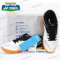 Sepatu Badminton Yonex Court King - White Black