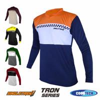 Jersey sepeda Timnas indonesia bahan Soft DryFit | baju sepeda mtb