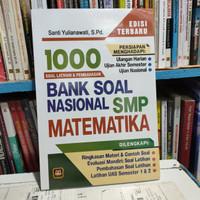 Buku 1000 soal latihan dan pembahasan Bank soal matematika smp origina