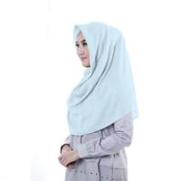 Zoya Aisha Plain - Hijab Kerudung Segi Empat - Dark Brown