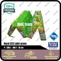 ROYAL FOAM Kasur Lipat Busa Royal D23 LG size 200 x 160 x 10 cm