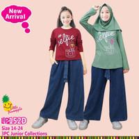 Little Pineapple Setelan Baju Muslim Anak Celana Kulot Junior 152 D