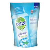 Dettol Body Wash Cool 410G Pouch