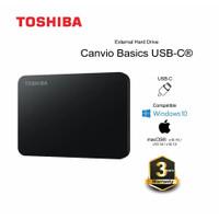 Toshiba Canvio Basic 1TB Type C - HD / HDD / Harddisk External