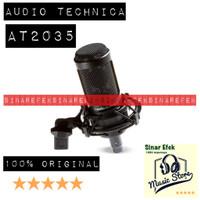 Audio Technica AT2035 Cardioid Condenser Microphone HH