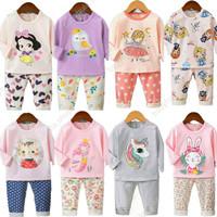 Piyama / Baju tidur/ Setelan Import Anak perempuan 7-10th KU BAO 1