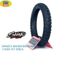 Ban Shinko E804 bigblock 110/80-19 Front