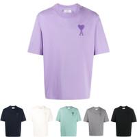 AMI Paris Big Ami De Coeur T-Shirt 100% Original